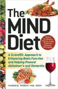 The MIND Diet - book cover - healthy eating for brain health
